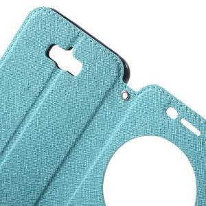 Diary peněženkové pouzdro s okýnkem na Asus Zenfone Max - světlemodré - 5