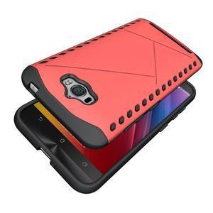 Odolný kryt na mobil Asus Zenfone Max - červený - 5