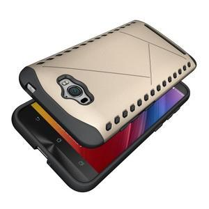 Odolný kryt na mobil Asus Zenfone Max - zlatý - 5