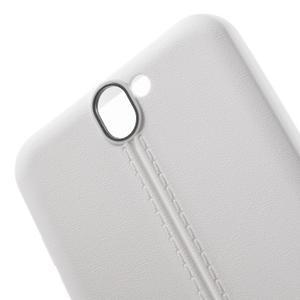 Lines gelové pouzdro na mobil HTC One A9 - bílé - 5