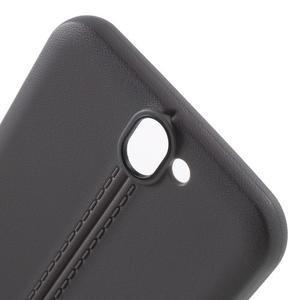 Lines gelové pouzdro na mobil HTC One A9 - šedé - 5