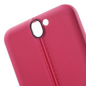 Lines gelové pouzdro na mobil HTC One A9 - rose - 5