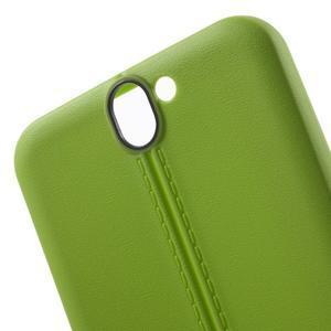 Lines gelové pouzdro na mobil HTC One A9 - zelené - 5