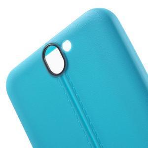 Lines gelové pouzdro na mobil HTC One A9 - modré - 5
