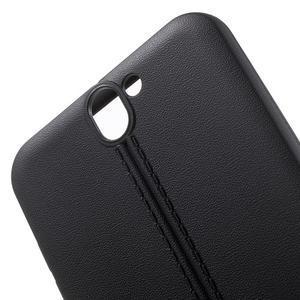 Lines gelové pouzdro na mobil HTC One A9 - černé - 5