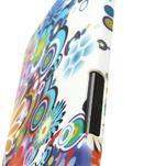 Plastový kryt na HTC One M7 - květy - 5/5
