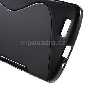 Gelový kryt S-line Huawei Ascend G7 - černý - 5
