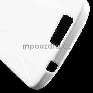 Gelový kryt S-line Huawei Ascend G7 - bílý - 5