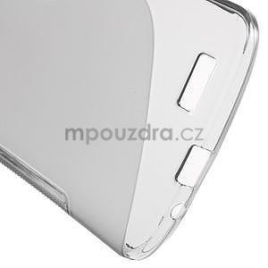 Gelový kryt S-line Huawei Ascend G7 - šedý - 5