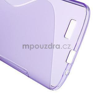Gelový kryt S-line Huawei Ascend G7 - fialový - 5