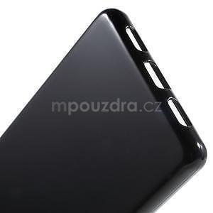 Lesklý gelový obal na Huawei P8 Lite - černý - 5