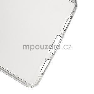 Ultra tenký gelový obal na Huawei Ascend P8 Lite - šedý - 5