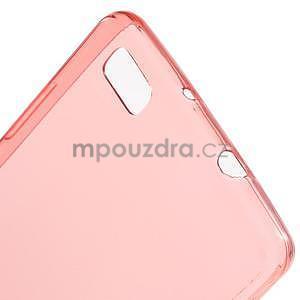 Ultra tenký gelový obal na Huawei Ascend P8 Lite - červený - 5