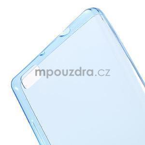 Ultra tenký gelový obal na Huawei Ascend P8 Lite - modrý - 5