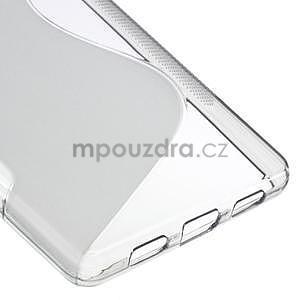 Šedý S-line gelový obal na Huawei Ascend P8 Lite - 5