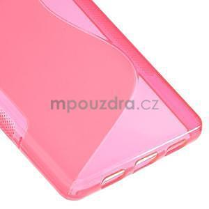 Rose S-line gelový obal na Huawei Ascend P8 Lite - 5