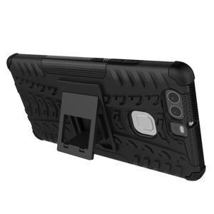 Outdoor ochranný kryt na mobil Huawei P9 - černé - 5