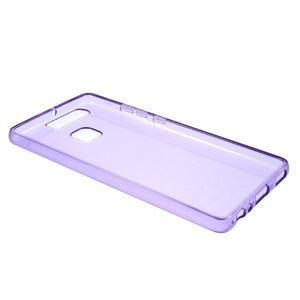 Gelový obal na mobil Huawei P9 - fialový - 5