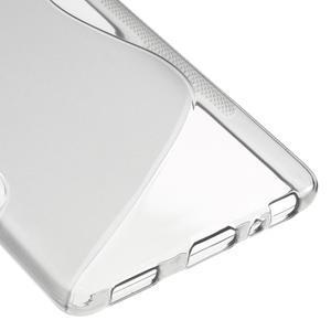 S-line gelový obal na mobil Huawei P9 - šedý - 5