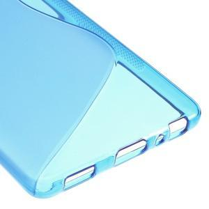 S-line gelový obal na mobil Huawei P9 - modrý - 5
