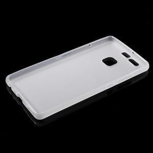 Trend matný gelový obal na mobil Huawei P9 - bílý - 5
