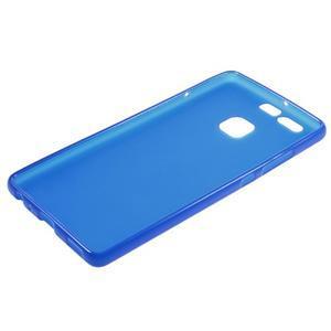 Trend matný gelový obal na mobil Huawei P9 - modrý - 5