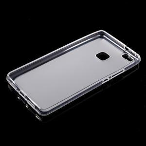 Matný gelový obal na mobil Huawei P9 lite - transparentní - 5