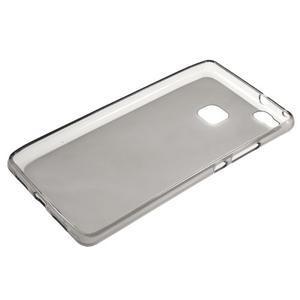 Matný gelový obal na mobil Huawei P9 lite - šedý - 5