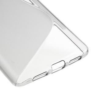 S-line gelový obal na mobil Huawei P9 Lite - šedý - 5