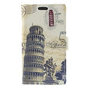 Peněženkové pouzdro na Samsung Galaxy A3 - Šikmá věž - 5