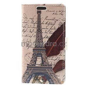 Peněženkové pouzdro na Samsung Galaxy A3 - Eiffelova věž - 5