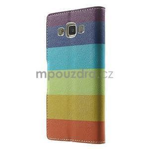 Peněženkové zapínací pouzdro na Samsung Galaxy A5 - barvy - 5