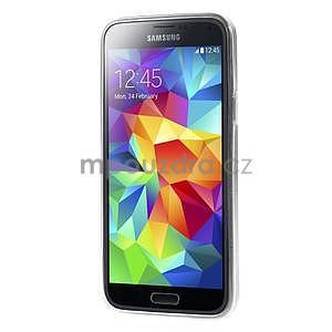 Ultra tenký gelový obal Samsung Galaxy S5 mini - motýlek - 5