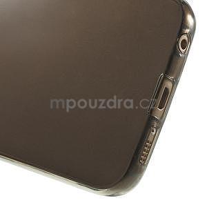 Ultra tenký gelový obal na Samsung Galaxy S6 Edge - šedý - 5