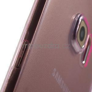 Ultra tenký gelový obal na Samsung Galaxy S6 Edge - rose - 5