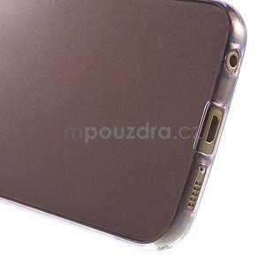 Ultra tenký gelový obal na Samsung Galaxy S6 Edge - fialový - 5