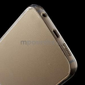Transparentní hybridní gelový obal na Samsung Galaxy S6 Edge - 5