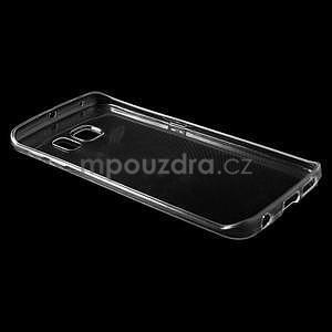Ultra tenký gelový obal na Samsung Galaxy S6 Edge - tranparentní - 5