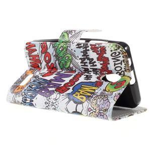 Styles peněženkové pouzdro na mobil Lenovo A319 - graffiti - 5