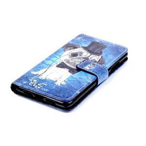 Style peněženkové pouzdro na mobil Lenovo S90 - mops - 5