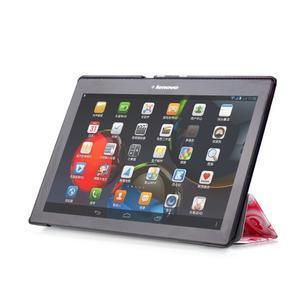 Polohovatelné pouzdro na tablet Lenovo Tab 2 A10-70 - srdíčka - 5