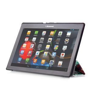 Polohovatelné pouzdro na tablet Lenovo Tab 2 A10-70 - malovaný strom - 5