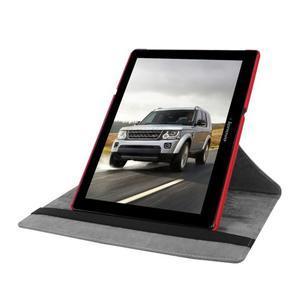 Pouzdro s otočnou funkcí na tablet Lenovo Tab 2 A10-70 - červené - 5