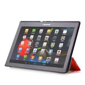Polohovatelné pouzdro na tablet Lenovo Tab 2 A10-70 - umělecká mabla - 5