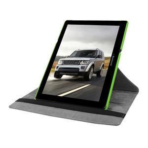 Pouzdro s otočnou funkcí na tablet Lenovo Tab 2 A10-70 - zelené - 5