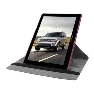 Pouzdro s otočnou funkcí na tablet Lenovo Tab 2 A10-70 - fialové - 5
