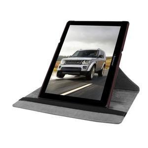 Pouzdro s otočnou funkcí na tablet Lenovo Tab 2 A10-70 - tmavěhnědé - 5
