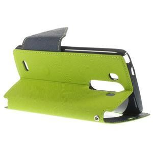 Diary pouzdro s okýnkem na mobil LG G3 - zelené - 5