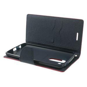 Goos peněženkové pouzdro na LG G3 - rose - 5