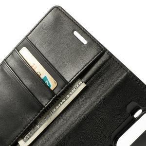 PU kožené pouzdro na mobil LG G3 - černé - 5